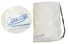 トヨタ車体クインシーズのひも付きビニールバッグの写真