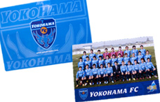 横浜FCのA4下敷きの写真