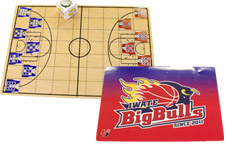 岩手ビッグブルズのゲーム付き下敷き(アナゲー)の写真