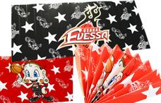 大阪エヴェッサのハリセンの写真