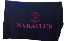 奈良クラブのブランケットの写真