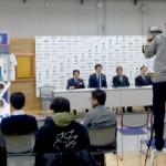 1/12フェンシング日本代表キックオフ記者発表!in 味の素ナショナルトレーニングセンターの写真