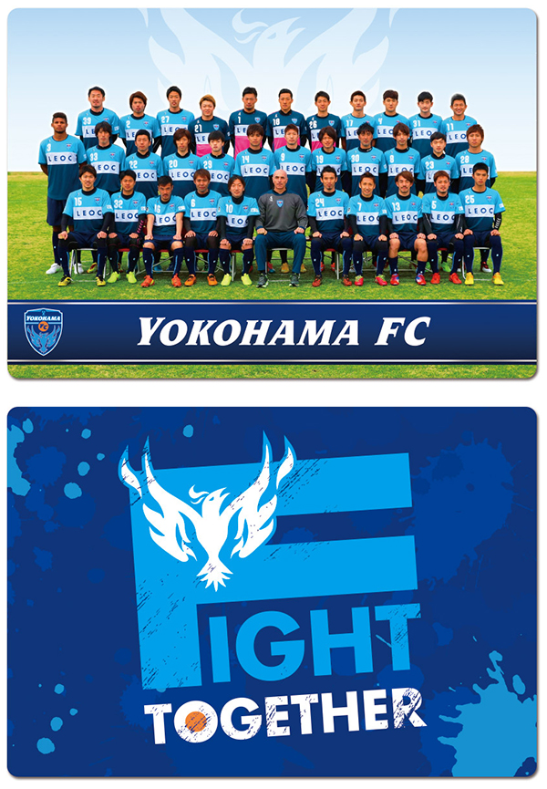 【横浜FC】下敷きの写真