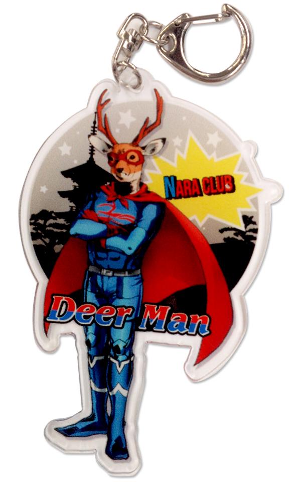 【奈良クラブ】Deer Man アクリルキーホルダーの写真