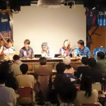 奈良クラブ 岡山選手のトークイベントに、DeerManと弊社デザイナー2名が出演いたしました!の写真