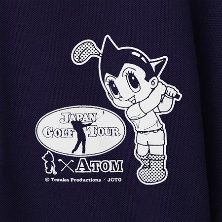 【ゴルフ×アトム】ポロシャツ