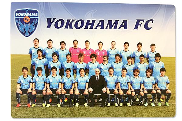 【横浜FC】下敷き2016バージョンの写真