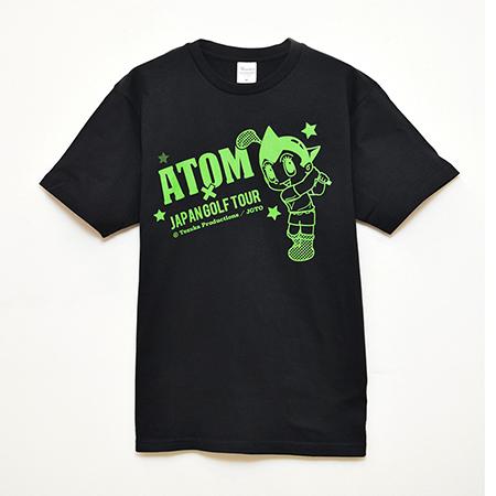 【ゴルフ×アトム】Tシャツ ブラックの写真
