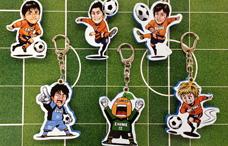 愛媛FCのアクリルキーホルダー(スライドミラー付)の写真