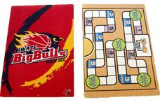 岩手ビッグブルズのゲーム付下敷き(アナゲー)の写真