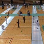 12/18-21全日本フェンシング選手権開幕 in 大田区体育館の写真