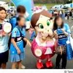 8月23日(日)の「ジュビロ磐田×ハクション大魔王」コラボグッズ販売レポートの写真