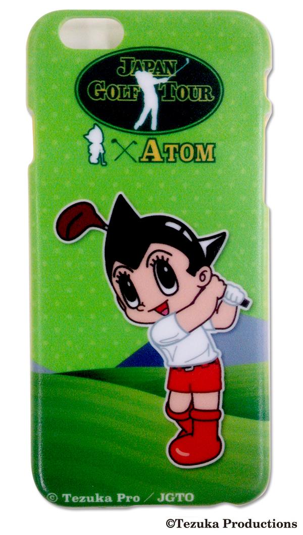 【ゴルフ】「アトム」コラボグッズ iphone6ケースの写真