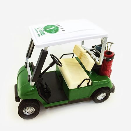 【ゴルフ×アトム】ミニチュアカート グリーンの写真