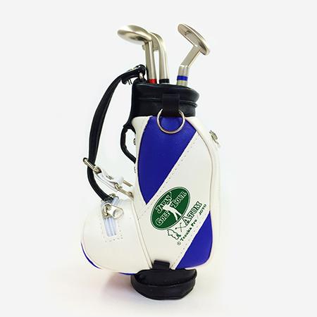 【ゴルフ×アトム】ゴルフバッグ型ペン立ての写真