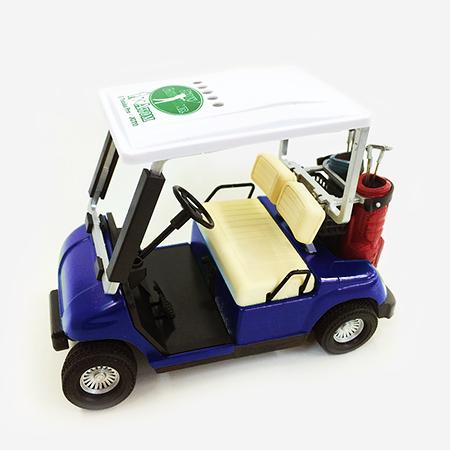 【ゴルフ×アトム】ミニチュアカート ブルーの写真