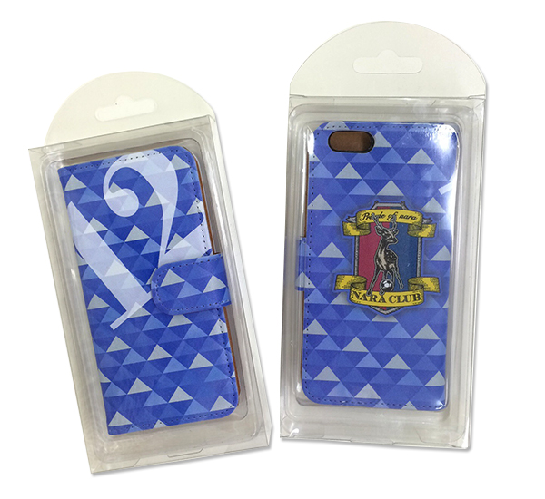 【奈良クラブ】iPhone6ケースのブルーの写真