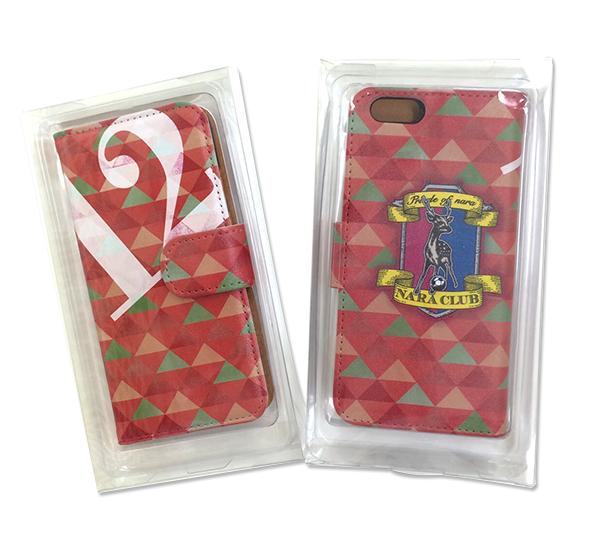【奈良クラブ】iPhone6ケースの赤の写真
