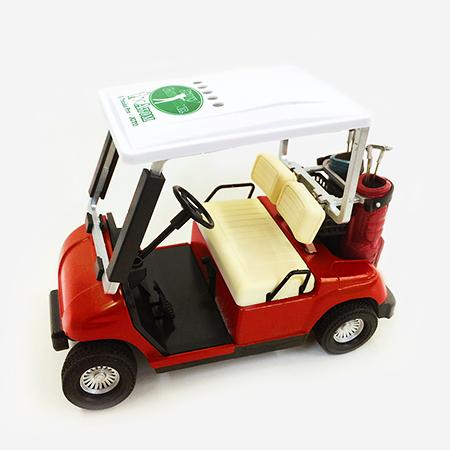【ゴルフ×アトム】ミニチュアカート レッドの写真