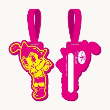 【ゴルフ×アトム】ラバーバックタグ / ピンクの写真