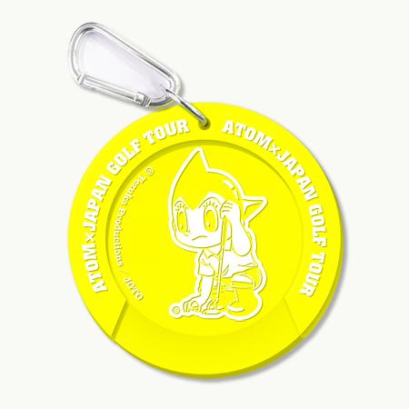 【ゴルフ×アトム】ターゲットカップ(イエロー)の写真